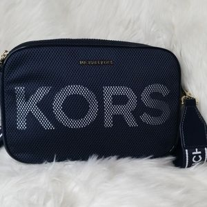 Michael Kors Bags - NWT MICHAEL KORS ADMIRAL BLUE LARGE CROSSBODY